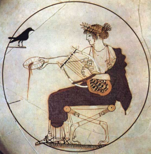 Apollo on Delphi kylix