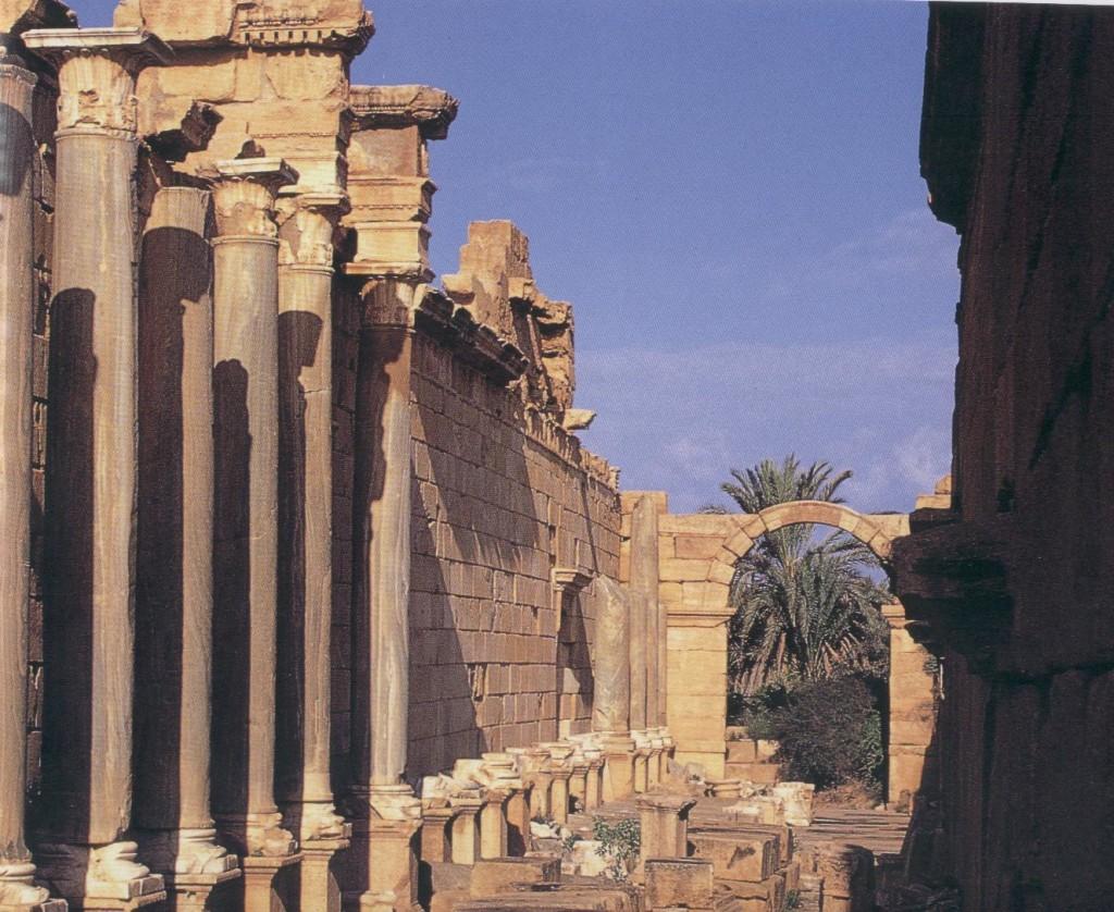 Severan Basilica Leptis Magna
