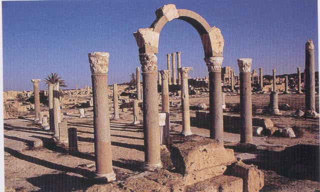 The Forum of Sabratha