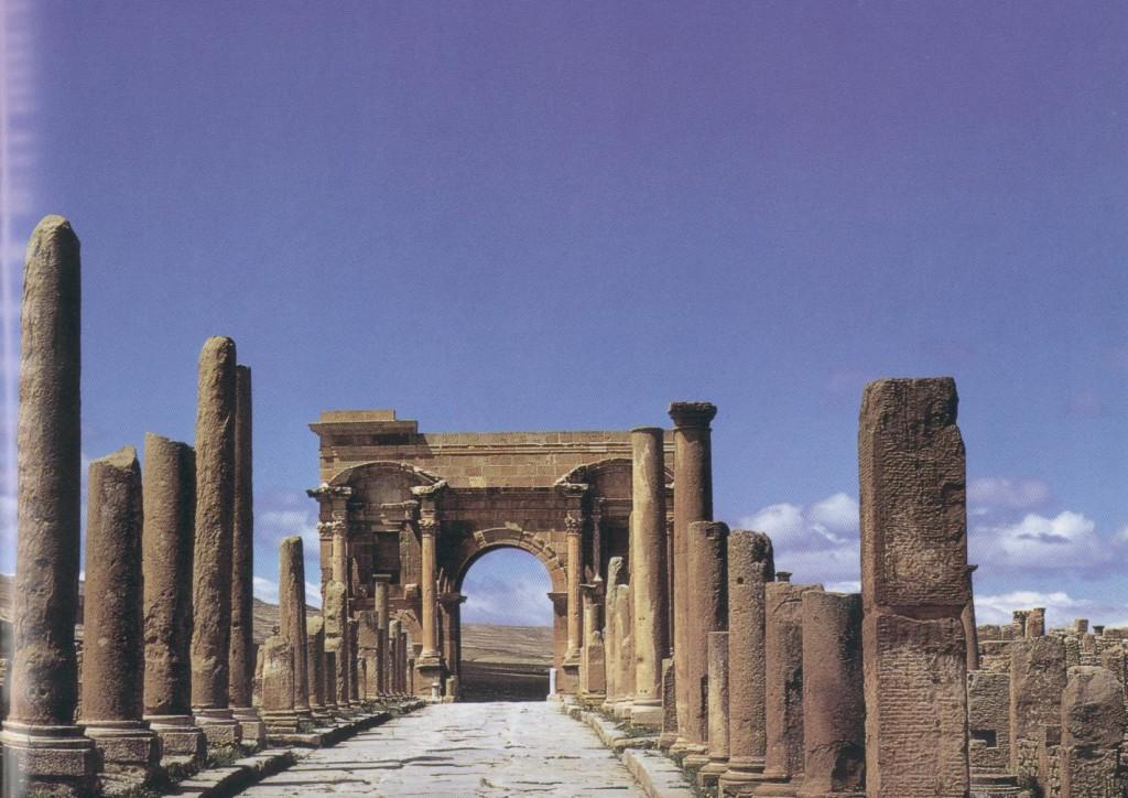 Arch of Trajan Colonia of Thamugadi, Numidia