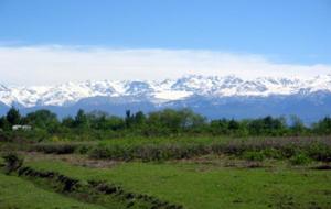 The Caucasus of modern Georgia, land of Colchis