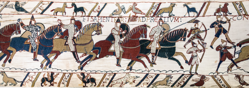 Norman cavalry charge