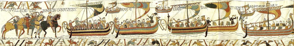 The Norman Invasion fleet