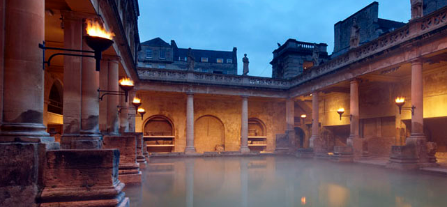Ruins of the Roman Baths