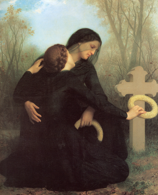 All Souls' Day (William Bouguereau 1859)