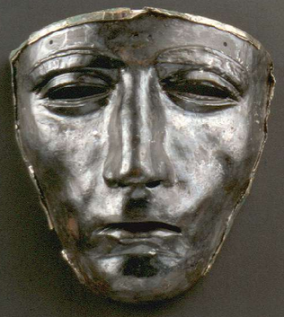 The Kalkriese Mask - worn by one of Varus' doomed troops