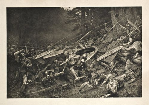 Ambush in the Teutoburg Forest
