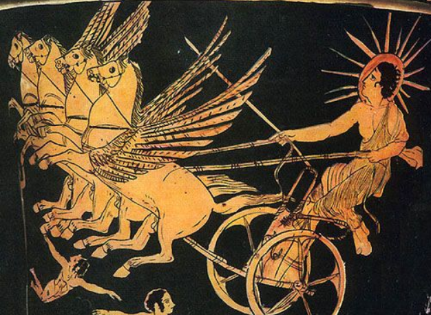 greek myths apollo with his chariot - photo #20