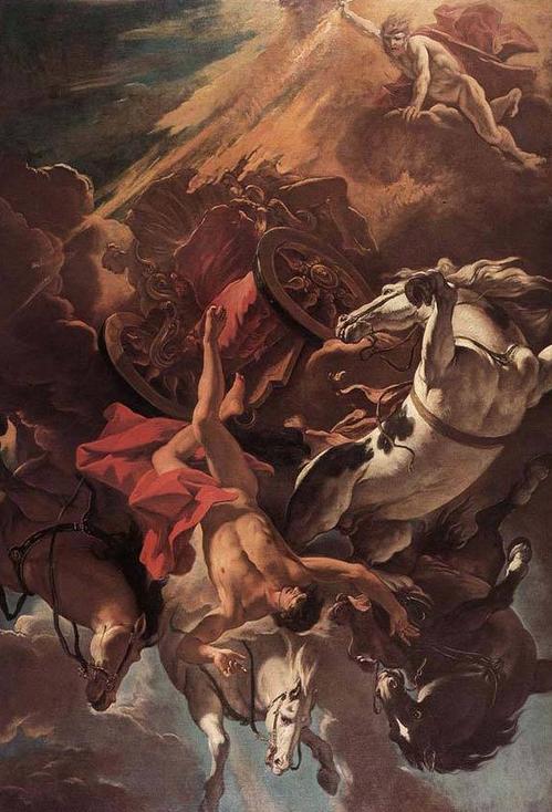 The Fall of Phaethon (Sebastiano Ricci 1659-1734)