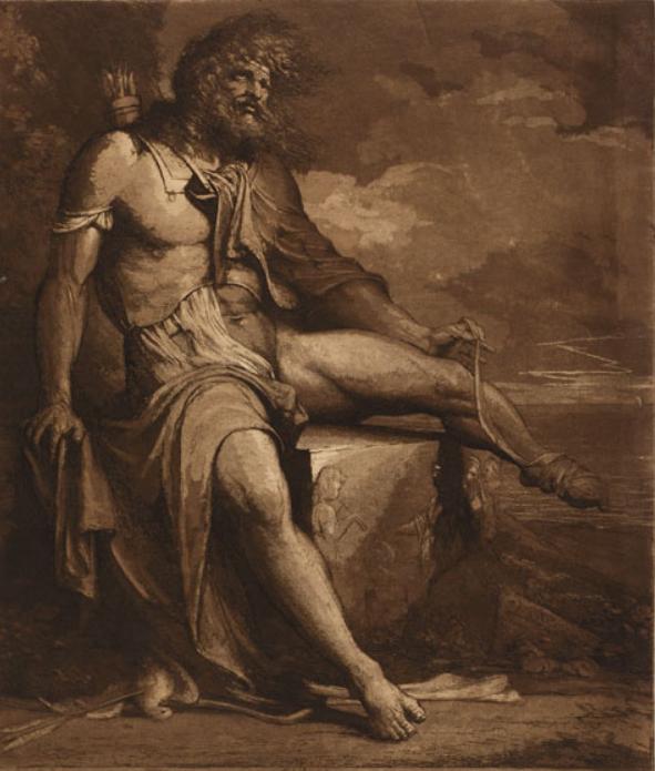 Philoctetes abandoned