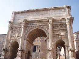 Arch of Septimius Severus - Forum Romanum