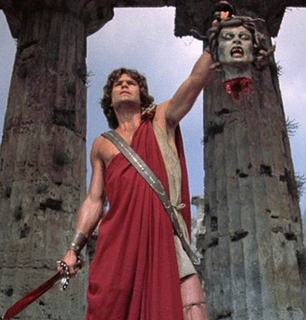 Harry Hamlin as Perseus in Clash of the Titans