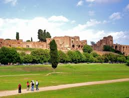 Severan Palace Complex from the Circus Maximus