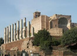 Ruins of the Temple of Venus and Rome