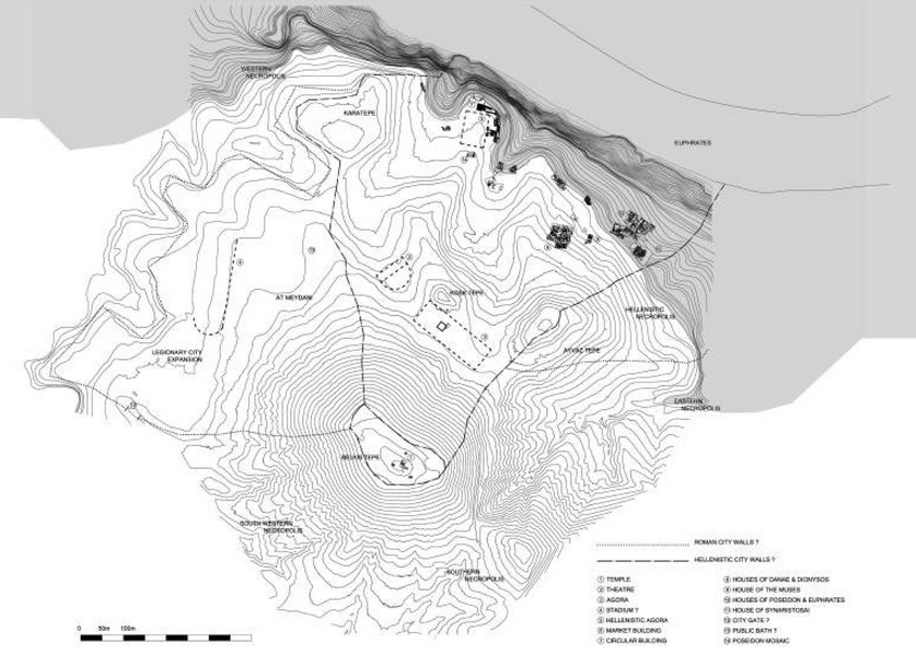 Zeugma Site Map
