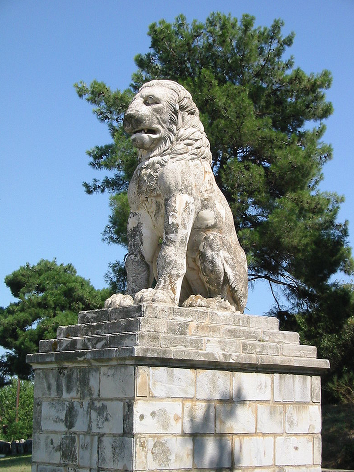 Lion of Amphipolis (Wikimedia Commons)