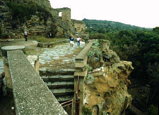 Cumaean Acropolis and Cave