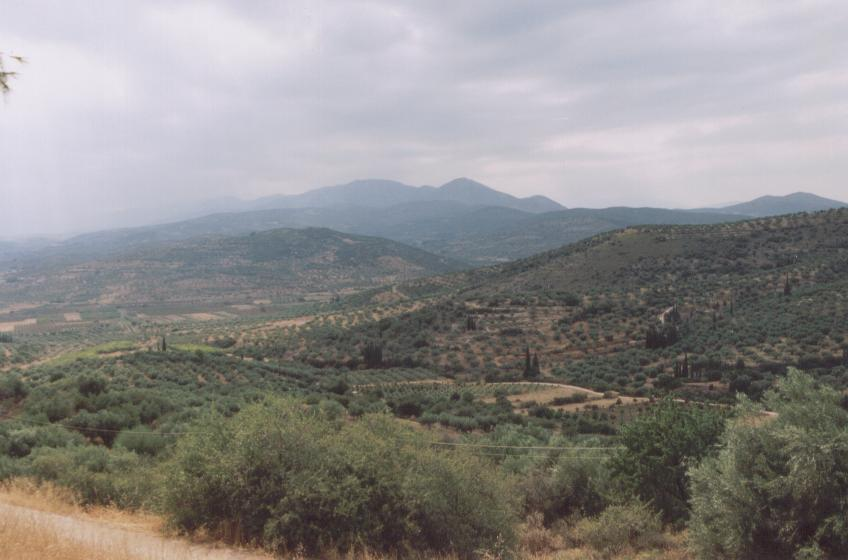 Nemea countryside