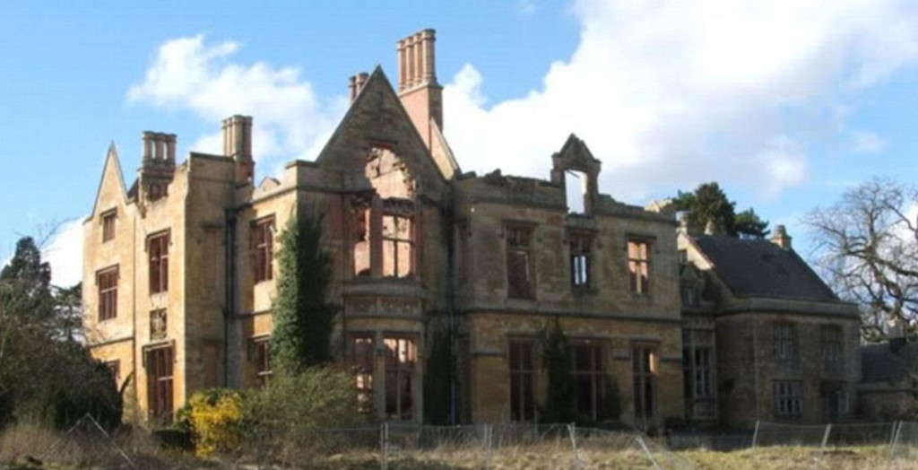 Check out this abandoned English manor house - should it be levelled or restored?
