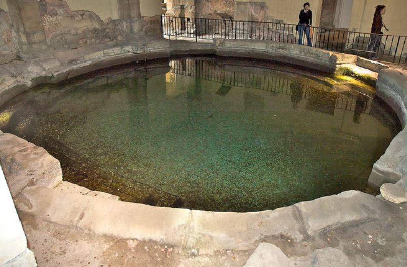 Frigidarium in the Baths of Diocletian, Rome