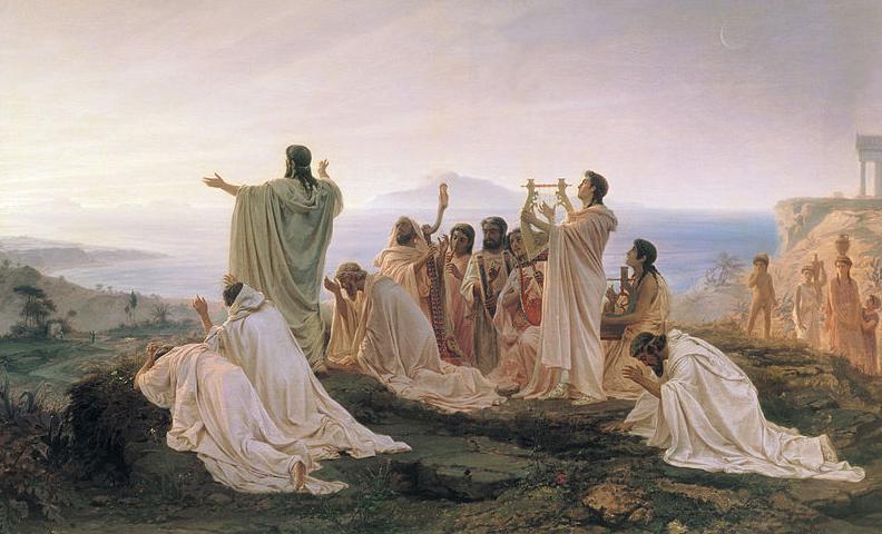 Pythagoreans' Hymn to the Rising Sun - 1869 Fyodor Bronnikov
