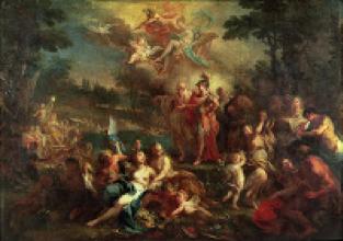 Aenaeas in Elysium