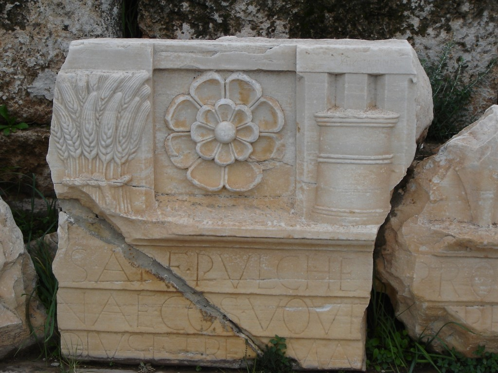 Symbols of the Harvest at Eleusis