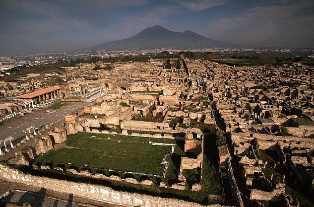 Pompeii aerial 2