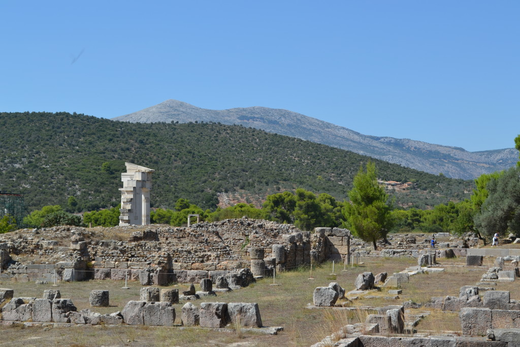 The Sanctuary of Asklepios from the North