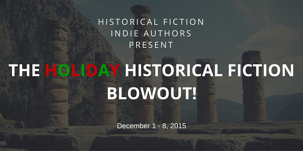 Historical fiction promotion twitter banner