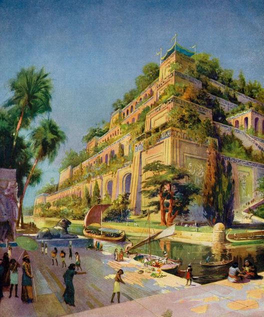 Then Hanging Gardens of Babylon
