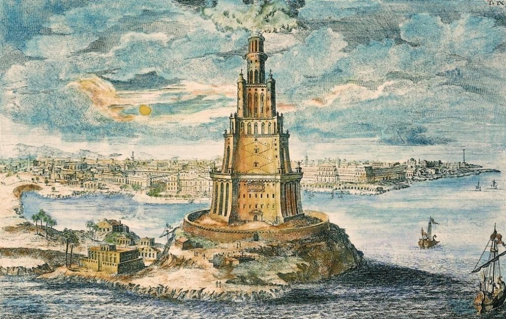 The Lighthouse, of 'Pharos', of Alexandria