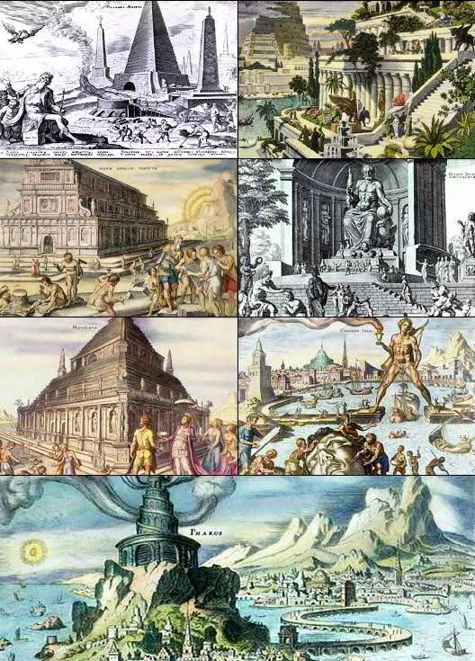 The Seven Wonders of the Ancient World by Maerten van Heemskerck