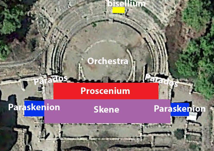 Aerial view of theatre (Wikimedia Commons)