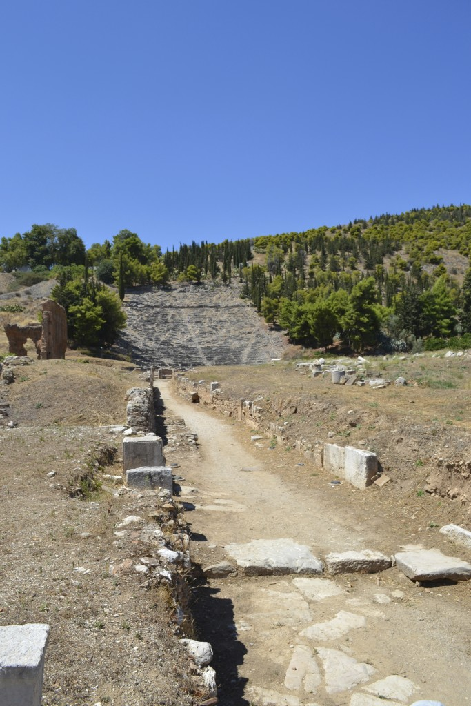 Street leading to the ancient theatre