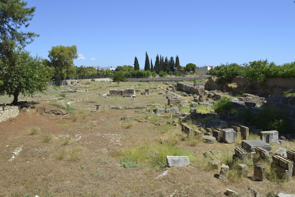 The ancient agora of Argos