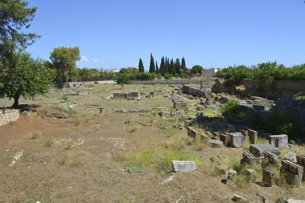 The ancient agora of Argos