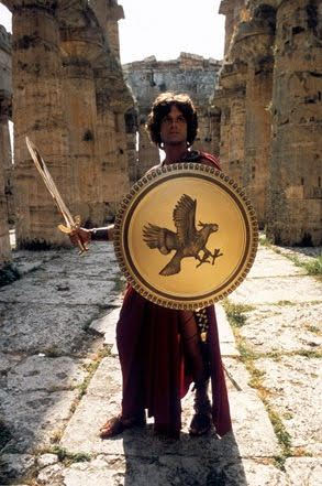 Harry Hamlin as Perseus, in Clash of the Titans