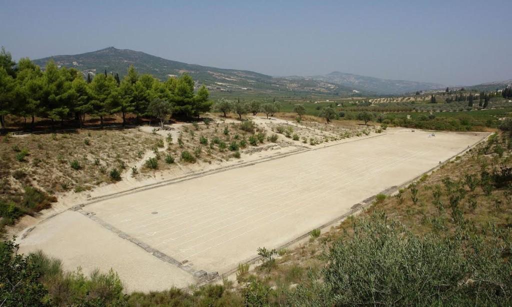 The stadium of Nemea (Wikimedia Commons)
