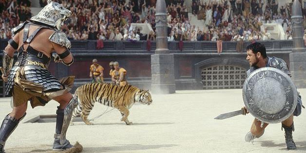 Great scene from Ridley Scott's epic, Gladiator