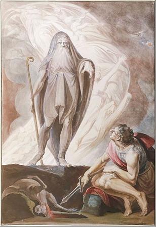 Teiresias speaks to Odysseus