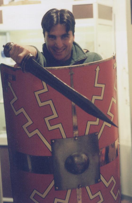 Having fun at the Trimontium Roman Legionary Museum. So much fun!