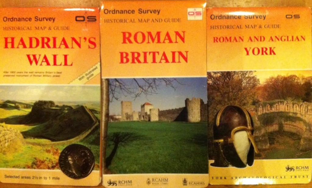 Some of my favourite Ordnance Survey Maps