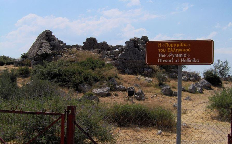Entrance to the Hellinikon Pyramid