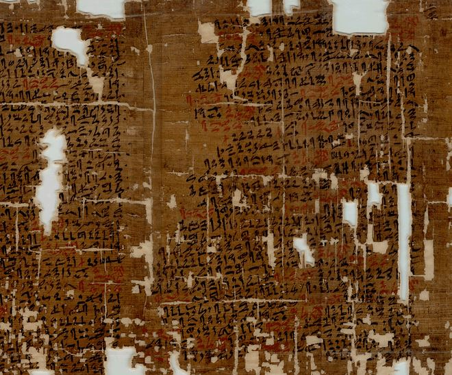 Egyptian Kahun Papyrus - The World's first known gynaecological treatise