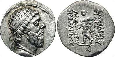 Mithridates I of Parthia, 171-139 B.C.