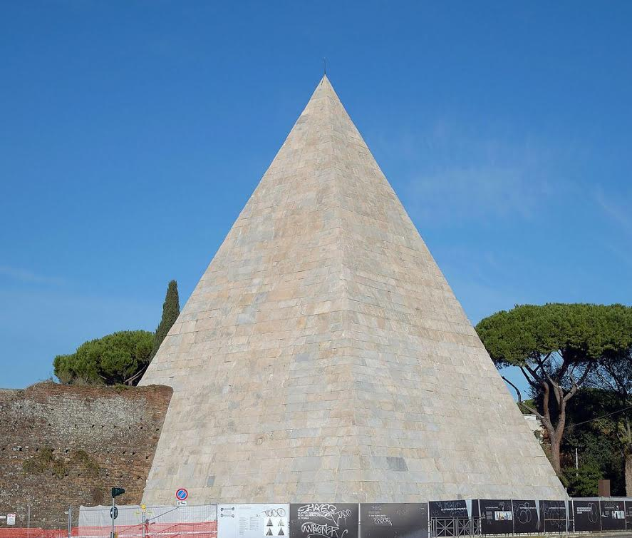 Pyramid of Cestius, Rome