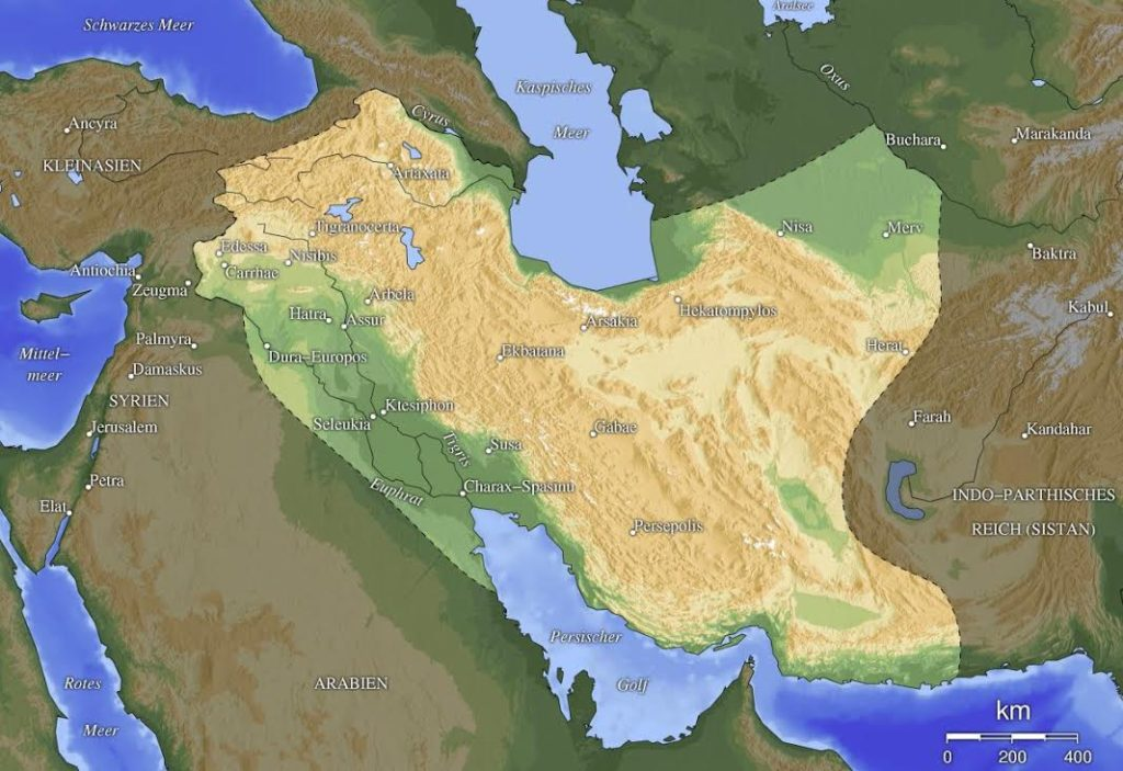 Parthian Empire (Wikimedia Commons)