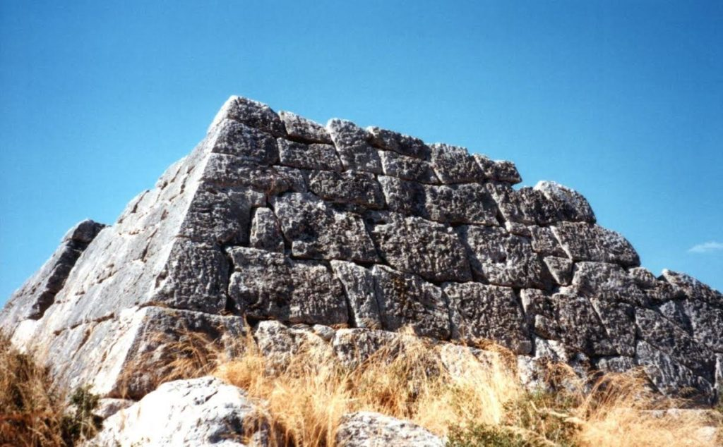 Yes. A pyramid of ancient Greece!