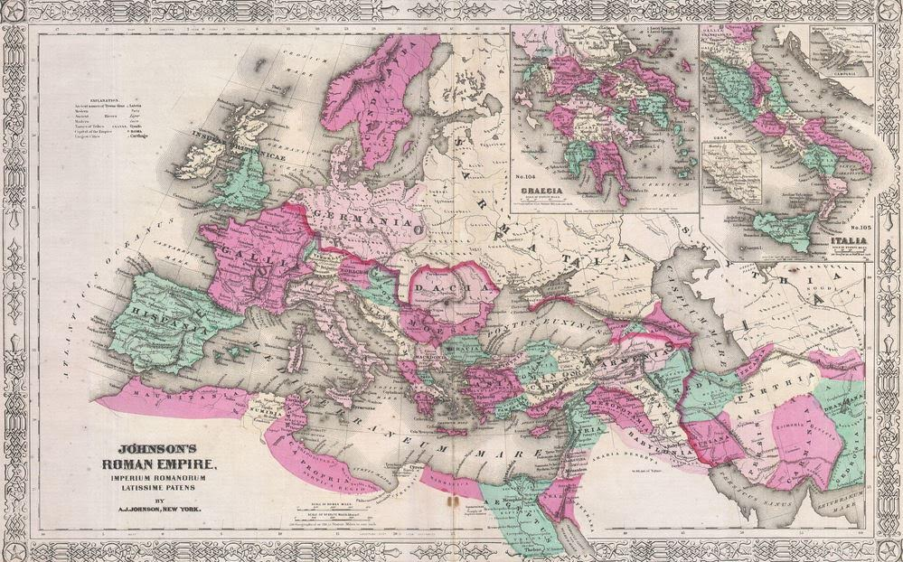 Roman Empire Greatest Extent